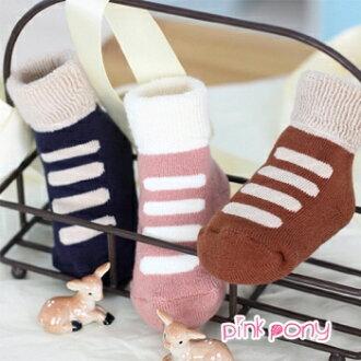 【Pink Pony】厚款仿鞋款毛圈襪 SW028
