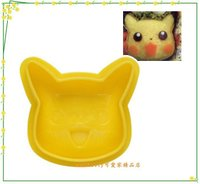 Pokemon:精靈寶可夢到asdfkitty可愛家☆寶可夢 神奇寶貝 皮卡丘飯糰模型-御飯糰-另可做鳳梨酥.餅乾.壓漢堡肉-日本正版