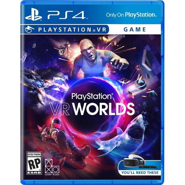 預購中 10月13日發售 中文版 [限制級] PS4 PlayStation VR WORLDS