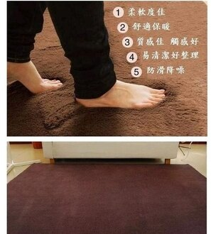 四條免運 促銷特賣 40*60 CM 纖細防滑柔軟舒適短絨毛地毯/ 浴室墊/ 玄關墊/ 地墊/ 門墊