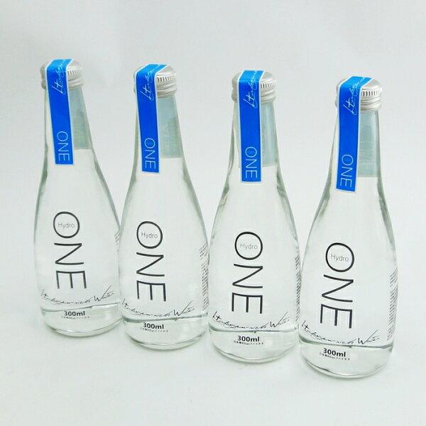 【UNIPRO】Hydro One 水素水 氫水 瓶裝300ml (4入) 抗氧化 中性水 幫助體內環保、促進新陳代謝,身體保健