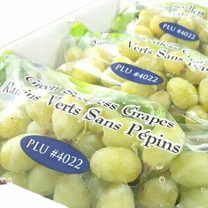 【免運】美國空運保證甜綠葡萄禮盒960元。【10/7 PM23:59加碼!全館滿$600最高折$100✶10/8 AM9:59最高現折$132✶】♡阿真媽媽保證好吃。超值得。