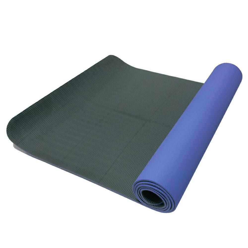 52s 環保TPE雙色止滑瑜珈墊 HSC-TPE5(附贈瑜珈背袋) 3