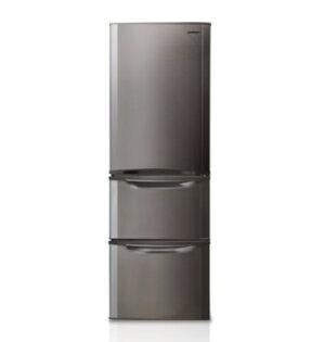 SHARP 夏普 SJ-E38DT-S , SJ-E38DT (不鏽鋼銀) 三門環保冰箱 (380L) 【零利率】※熱線07-7428010