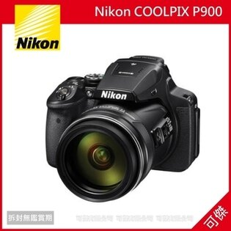 補貨中 可傑 Nikon COOLPIX P900 類單眼 望遠變焦相機 .WIFI NFC 83X 光學變焦.平行輸入