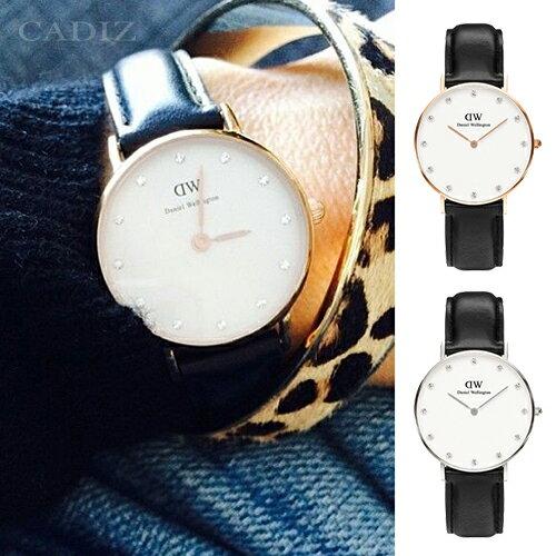 【Cadiz】瑞典DW手錶Daniel Wellington 0951DW 玫瑰金 0961DW 銀 Sheffield 26mm [代購/ 現貨] 0