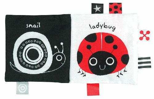 『121婦嬰用品館』k's kids 學習布書 - 黑白紅 3