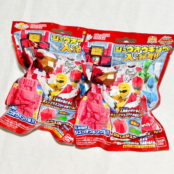 動物戰隊獸王者 入浴劑 + 方塊玩具 泡澡用 日本帶回BANDAI正版