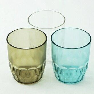 【珍昕】 水玫瑰安全水杯~3色/透明.墨黑.藍色 (8X8X9.4cm/250ml)