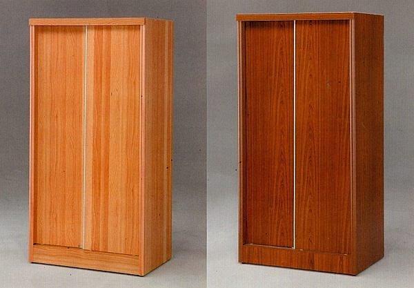~尚品 ~~特別 ~637~10 柚木色 3x6 直桶推門衣櫥 衣櫃 收納櫃 櫥櫃^~有四