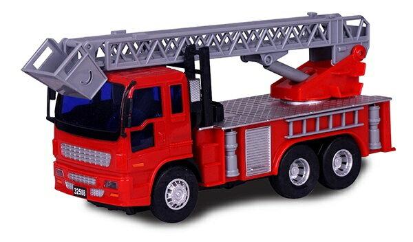 小小家 磨輪小型消防雲梯車 32508 1