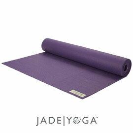 Jade 天然橡膠瑜珈墊 173cm-深紫色