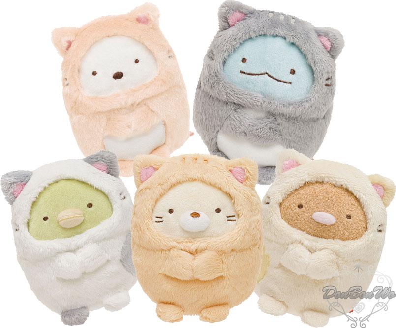 角落小精靈絨毛娃娃玩偶暖貓日和系列貓咪裝 炸豬排678803海渡 ~  好康折扣
