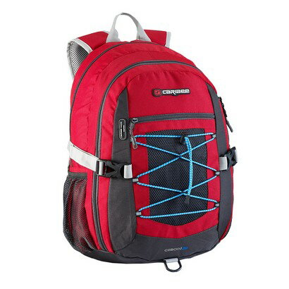 Caribee Cisco Backpack (red) 0
