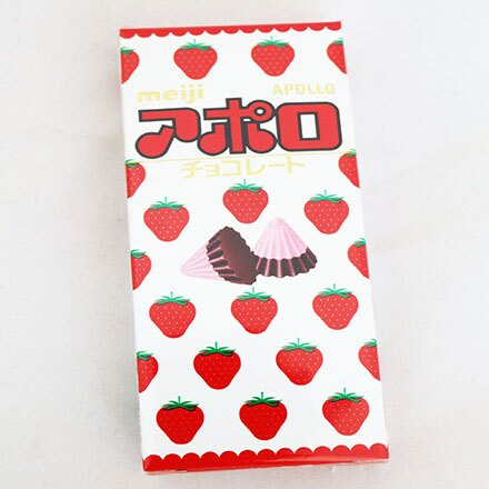 【敵富朗超巿】Meiji明治 三角草莓巧克力 - 限時優惠好康折扣