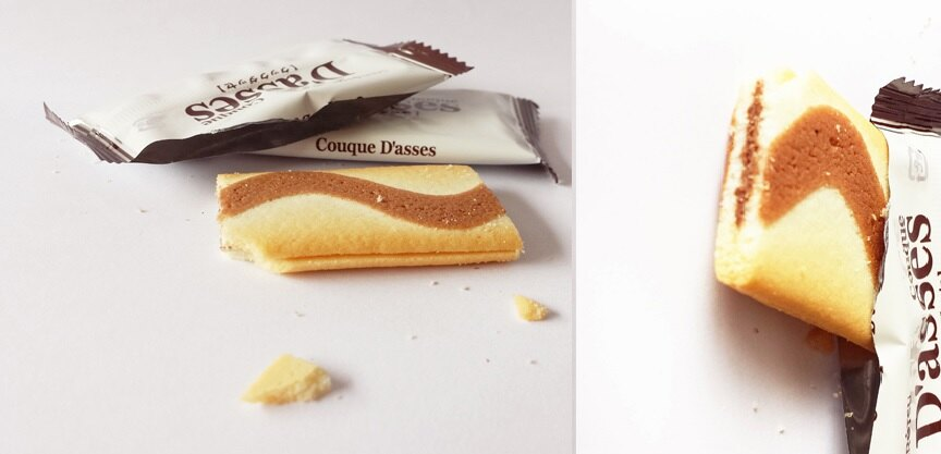 有樂町進口食品 日本 三立薄燒巧克力夾心薄餅 J55 4901830351804 4