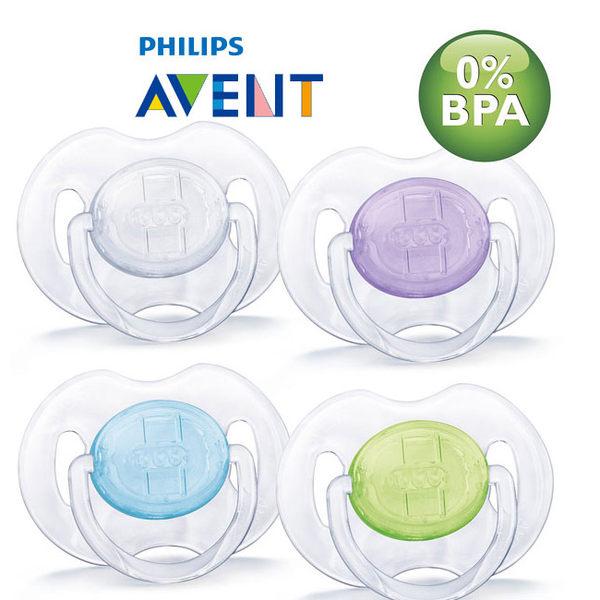『121婦嬰用品館』AVENT 水晶矽膠安撫奶嘴(0-6m) 2入 0