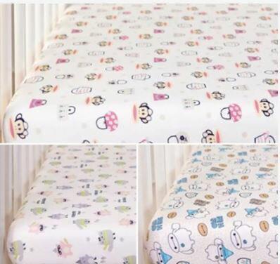 【精梳棉】嬰兒床包(大嘴猴/大白/PPY BABY)