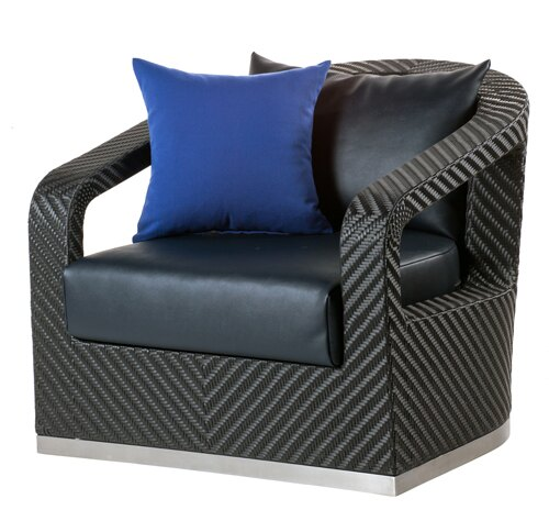 CRUISE 遊輪 單人沙發 戶外家具【7OCEANS七海休閒傢俱】EXPRESSO 黑褐色 0