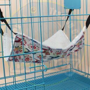 貓咪籠內吊床~原價299,下殺199元~ 彩色圖案加絨貓咪吊床 羊羔絨貓窩床~巴尼寵物精品