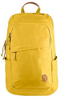【鄉野情戶外專業】 Fjallraven |瑞典|  小狐狸 Raven 20L 筆電背包/G1000 復古後背包/26051 《赭黃色160》