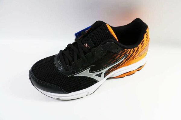 [陽光樂活] MIZUNO 美津濃 大童鞋 WAVE RIDER 19 Jnr. -K1GC162503