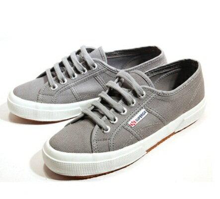 【SUPERGA】義大利國民鞋-灰 3