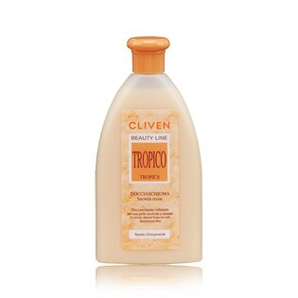 CLIVEN香草森林-軟化角質香水沐浴乳(粉橘)300ml