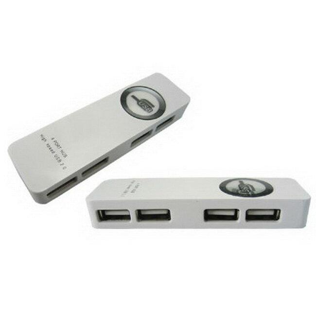 4 埠2.0 USB Hub(Y-166)(白)