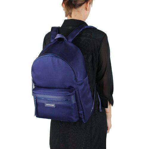 【LONGCHAMP】 LE PLIAGE NEO 系列 後背包 - 深紫 2