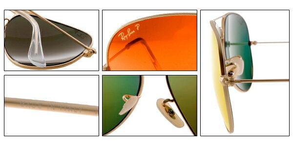 Ray Ban 雷朋 水銀鍍膜 霧金 太陽眼鏡 RB3025 8