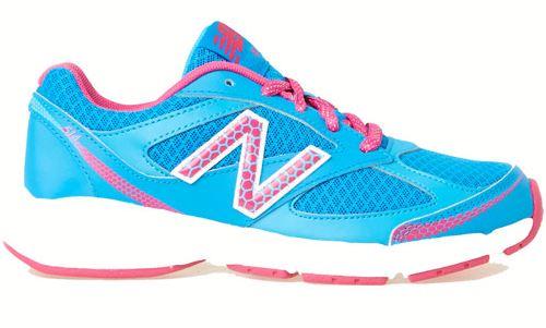 [陽光樂活] New Balance  中性 慢跑鞋 避震跑鞋 寬楦  KJ514BFY  藍粉