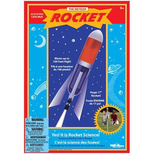 【奇買親子購物網】美國Scientific Explorer 發現科學-流星火箭實驗組