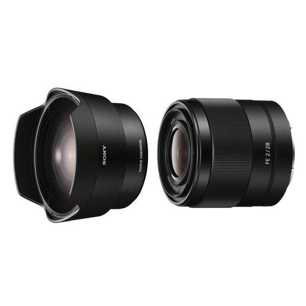 【新博攝影】 Sony FE 28mm F2.0 + SEL057FEC 魚眼鏡頭組合 (分期0利率;台灣索尼公司貨)