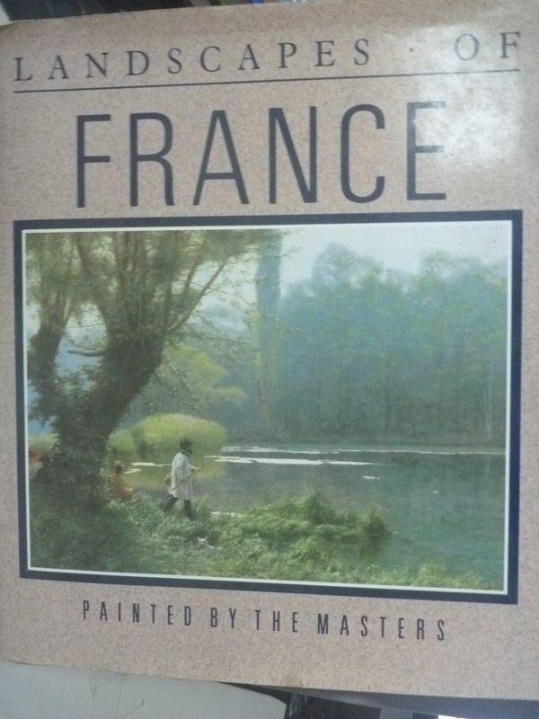 ~書寶 書T5/旅遊_YII~Landscapes of France_Andrew He