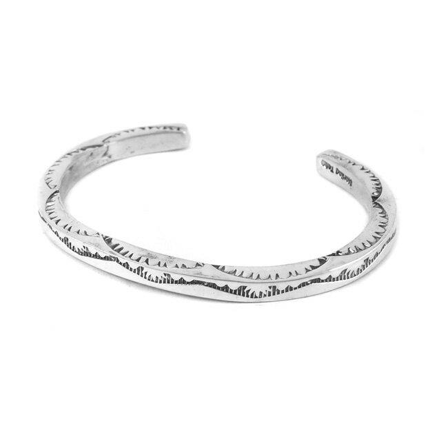 【海外訂購】【Indian Jewelry】印地安圖騰方形手鐲(花紋隨機出貨)(Navajo-026-R) 3