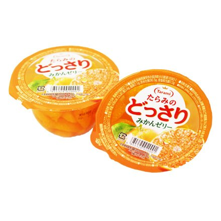 [敵富朗超市]Tarami達樂美果凍-橘子 - 限時優惠好康折扣
