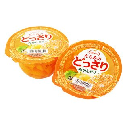 [敵富朗超市]Tarami達樂美果凍-橘子