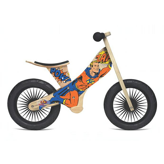 美國【Kinderfeets】木製平衡滑步車/教具車-英雄聯盟系列(超級英雄) 0