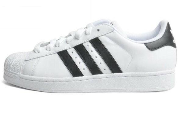 Adidas Superstar 貝殼頭經典款 男女情侶鞋 (白黑36-44)