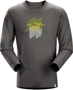 Arcteryx 始祖鳥/排汗衣 Towers T-Shirt LS 男款 圓領長袖T恤/透氣棉T 16425 鐵砧灰 Arc'teryx
