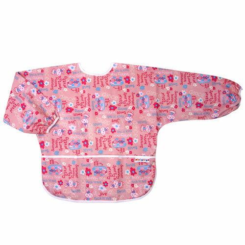 Baby City娃娃城 - 防水長袖畫畫衣(3-5A) 粉色兔子 0