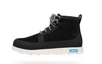 native 輕量懶人鞋、休閒防水鞋到NATIVE  SHOES - Fitzroy - Jiffy Black/Shell White (1100)