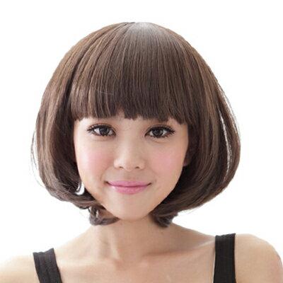 ☆雙兒網☆材質再升級新耐熱假髮【MB016】耐熱纖維-韓首爾女孩俏麗修臉短髮 0