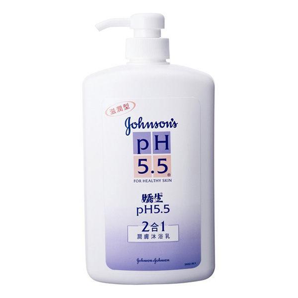 嬌生 pH5.5 二合一潤膚沐浴乳 1000ml【德芳保健藥妝】