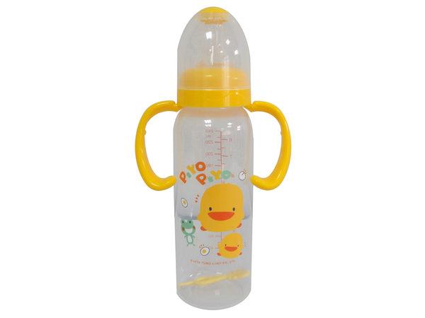 黃色小鴨 PP學習型握把奶瓶 240ml【德芳保健藥妝】