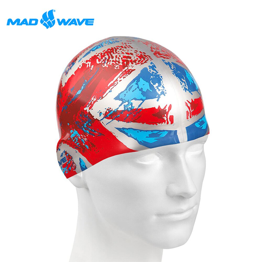 俄羅斯MADWAVE成人矽膠泳帽 UK - 限時優惠好康折扣