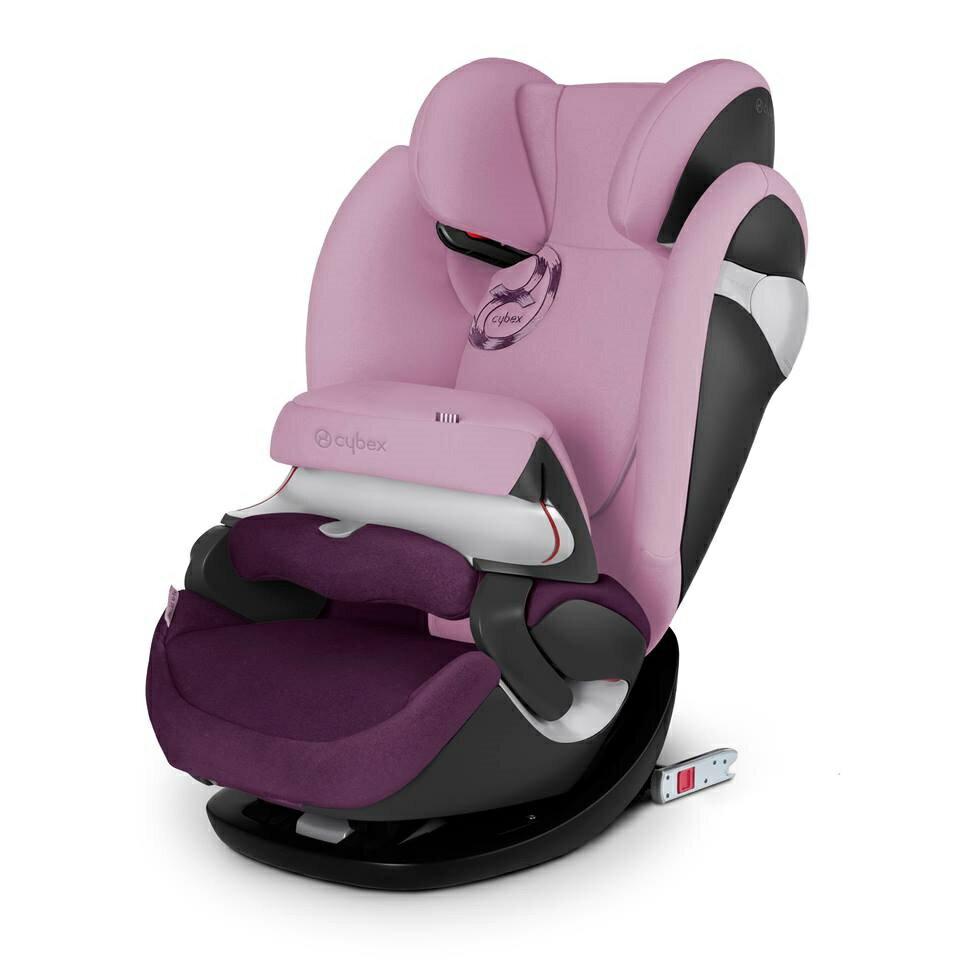 德國【Cybex】Pallas M-FIX 汽車安全座椅 (1~12歲) -公主粉 0