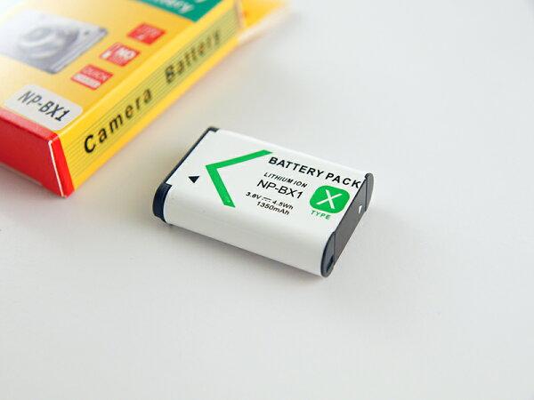 Sony NP-BX1日蕊相機電池-副廠電池 X1000VR AS200VR AS100VR AS100VB
