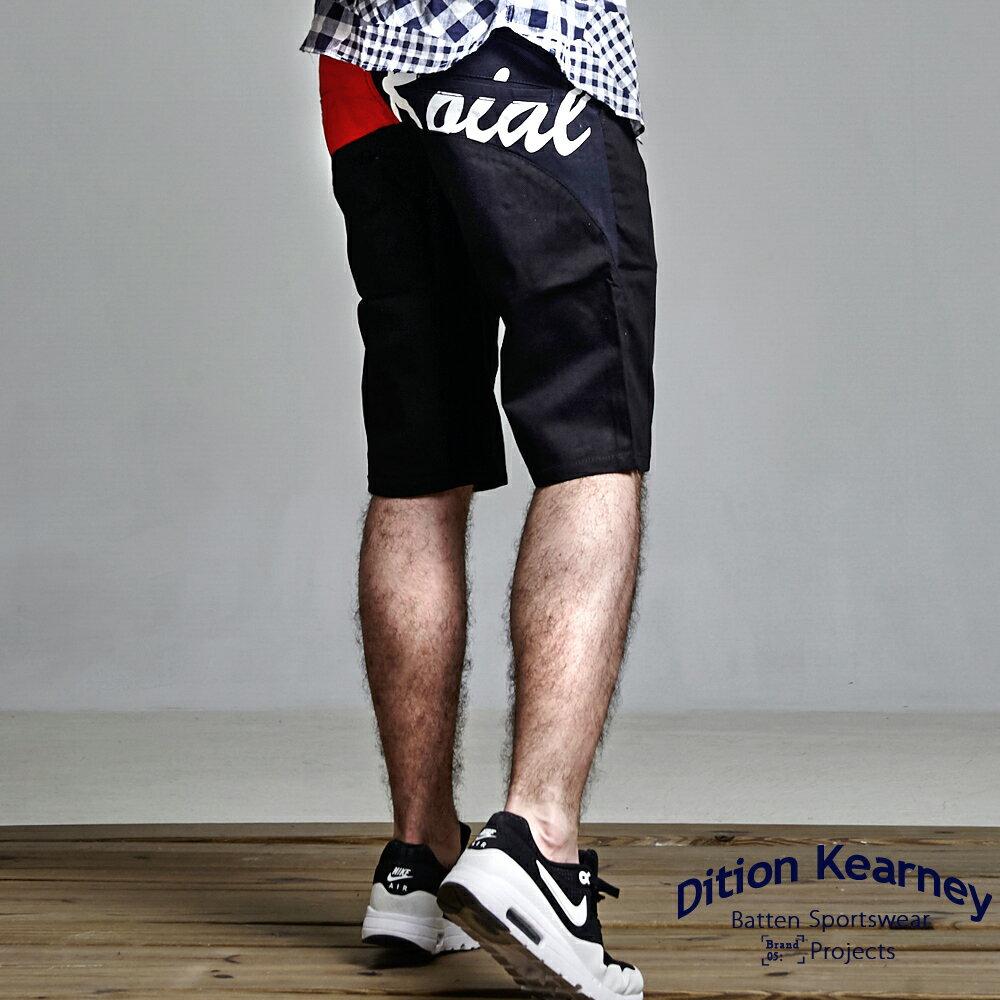 DITION SHOP 美式SURF電繡工作短褲 TOMMY風 CHAMPION 1